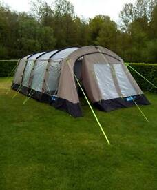 Kampa Croyde 4 tent with vestibule,groundsheet and carpet