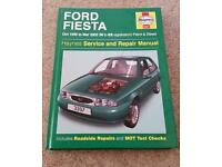 Ford Fiesta '95 - '02 Haynes manual