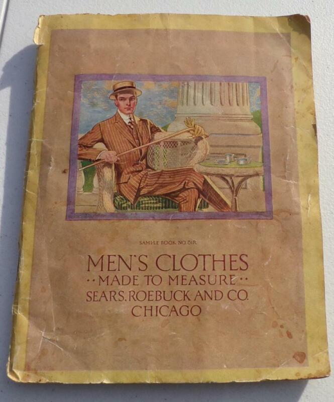 Antique 1914 Sears Roebuck Co Men