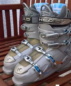 Head Edge Ladies Ski Boots size 6 (Mondo 25)