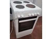 STATESMAN DELTA 50E 50cm SINGLE CAVITY ELECTRIC COOKER White