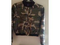 Womans jacket new sz 10