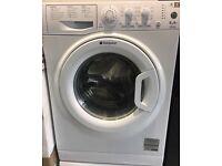 HOTPOINT 6kg white washing machine 1200 spin £100 free delivery & installation