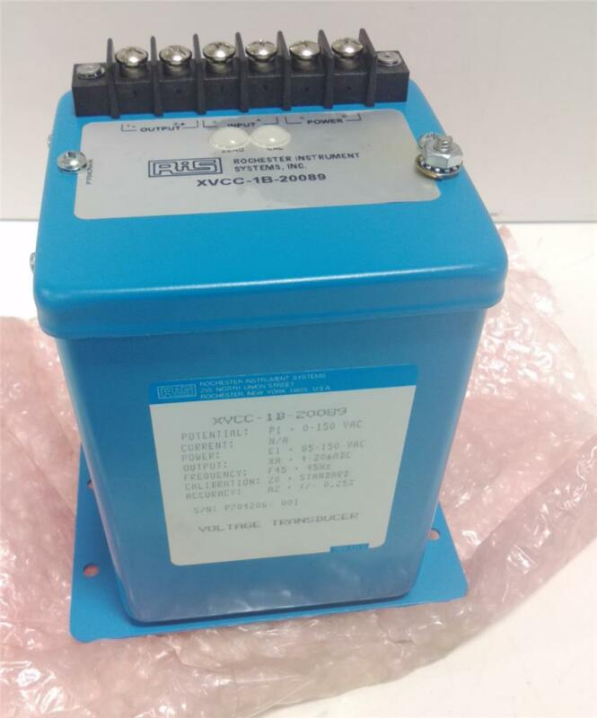 ROCHESTER INSTRUMENT SYSTEMS VOLTAGE TRANSDUCER XVCC-1B-20089