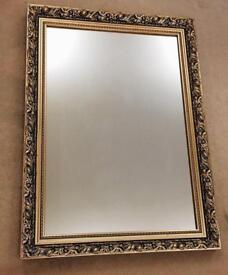 Vintage Gold Framed Mirror