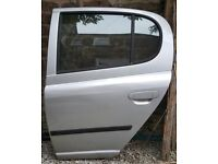 Spare parts available for Toyota Yaris (various models)