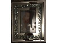 Brand new mirror effect photo frame