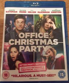 Office Christmas party Blu-ray dvd