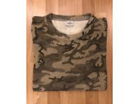 Vivienne Westwood Man Label Oversized Camouflage T-shirt. - size Large