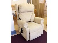 RISE AND RECLINE - Mobility Armchair with Electric RECLINER and LIFT Functions + FREE LOCAL DELIVERY