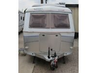 HYMER ERIBA TOURING GT 2005 *FIXED BED* 4 BERTH CARAVAN