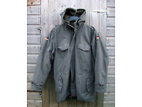 Vintage 1980's - GERMAN ARMY Issue PARKA + with Fleece LINER