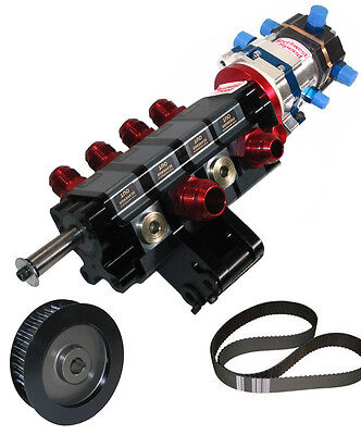 KSE TANDEM X DIRECT DRIVE & STOCK CAR PRODUCTS 4 STAGE DRY SUMP PUMP,PULLEY,BERT
