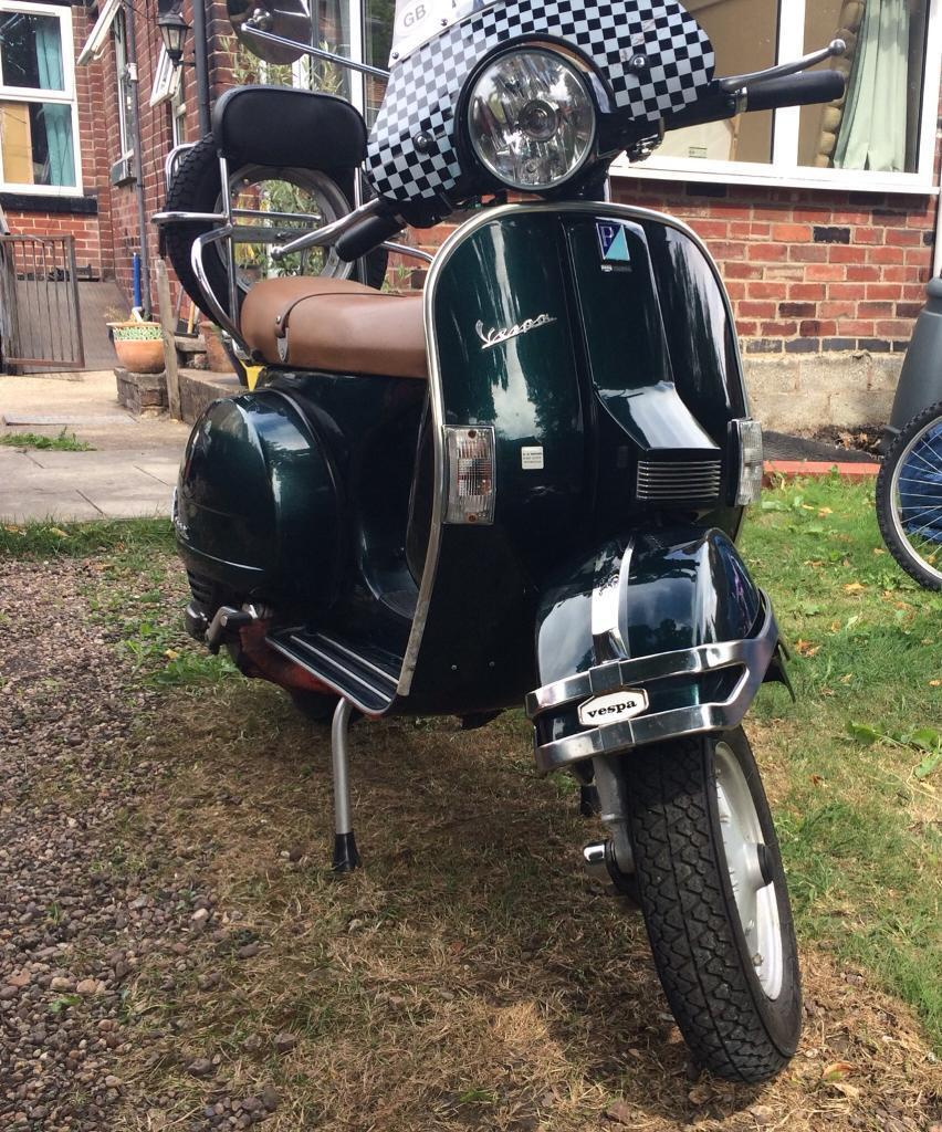 For Sale 2003 Vespa PX 200 E scooter | in Sheffield, South Yorkshire |  Gumtree