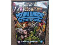 Future Shock The Story Of 2000 AD DVD SCRATCH FREE DISC! R2 UK Judge Dredd Comic