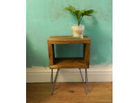Chunky, Industrial Style, Wooden Bedside Tables & Furniture