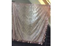 Curtains pink only £17
