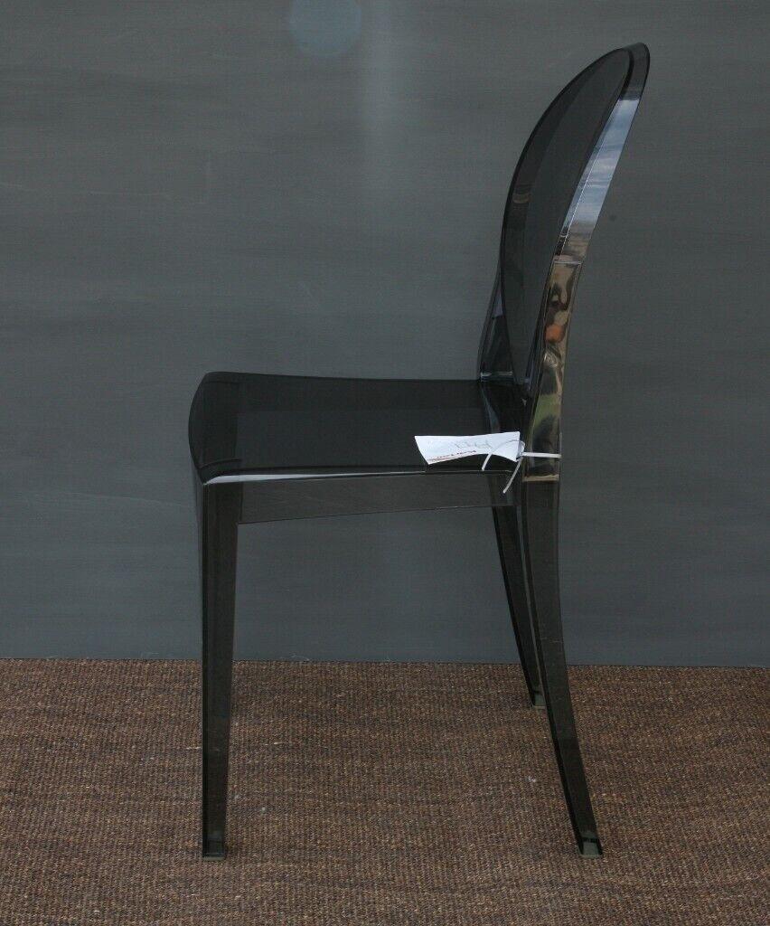 Philippe starck chair victoria ghost black single chair