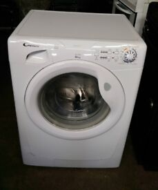 FREE DELIVERY Candy 6KG, 1600spin washing machine WARRANTY