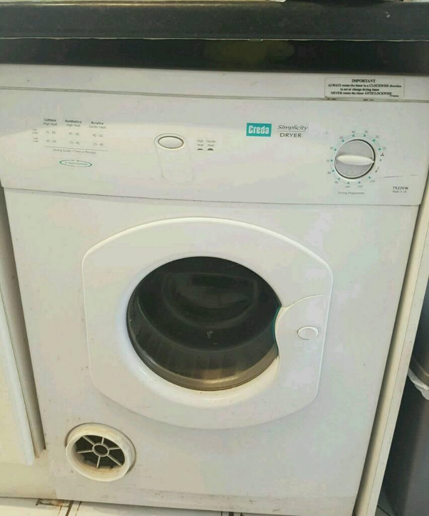 Creda 7 kg dryer