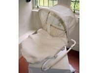 Mothercare vibrating rocker chair
