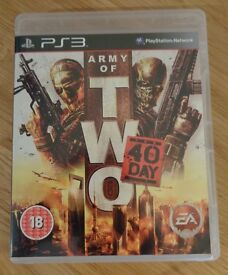 PS3 - Army of Two - The 40th Day - Excellent Condition
