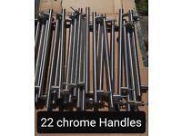 Kitchen Chrome Handles