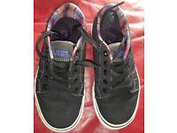 Unisex Vans Bishop Canvas Skate Shoes, Size 10.5, Unwanted Gift, £10 o.n.o. Blantyre Area