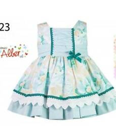 DESIGNER Spanish Alber dress 18months small fit !!!!