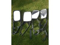 2 SETS OF CARAVAN TOWING MIRRORS