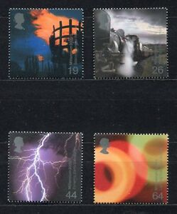 S3093-UK-Great-Britain-2000-MNH-Millennium-Fire-amp-Light-4v