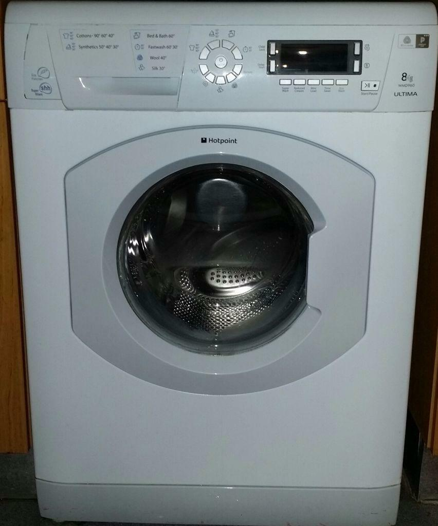 Hotpoint Ultima WMD960 washing machine - load capacity 8kg