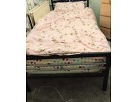 SINGLE BED AND MATTRESS - GREAT CONDITION