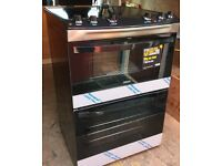 Zanussi free standing electric cooker brand new