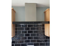 90 cm slimline touch control cooker hood,