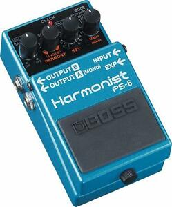 PS6 PITCH SHIFTER Harmonist Boss pedal