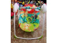 Safari electrical baby swing