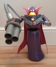 DISNEY STORE TOY STORY ZURG TALKING ACTION FIGURE LIGHTS UP