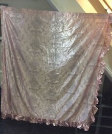 Curtains pink ONLY £9