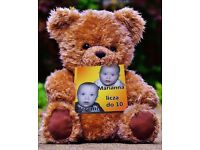 Personalized toddler board book