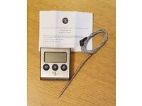 In Oven Meat Thermometer with Probe