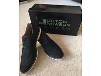 Navy Blue Brogues Size 6 (Burton Menswear)