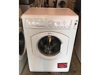 HOTPOINT Aquarius WML540 Free Standing Washing Machine Good Condition & Fully Working Order