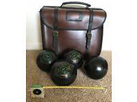Lawn Bowls ALMARK CLUBMASTER Medium Size 6 + Bag/Tape