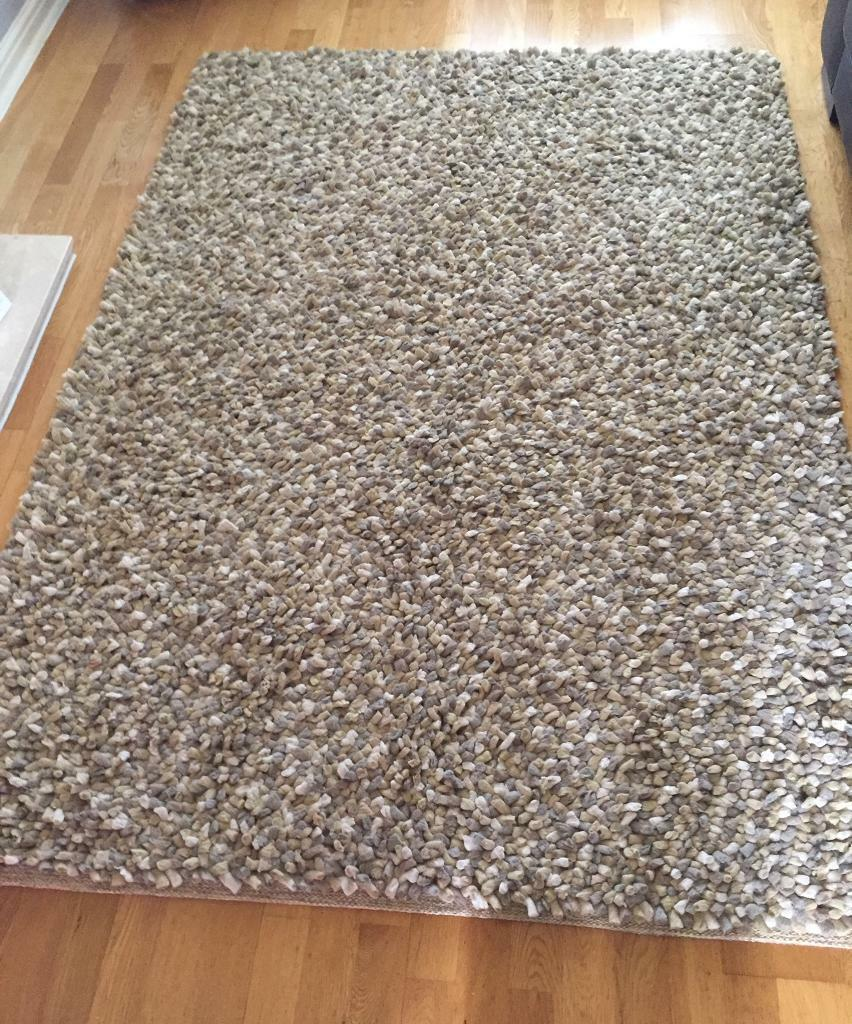 Ochre Pebble Rug from Next | in Stepps