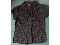 Monsoon Women's Blouse Shirt Top, UK14 (42), Excellent Condition