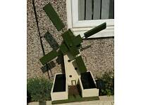 Light up Windmill planter