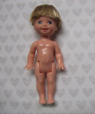 Kelly CLUB NUDE BOY DOLL~TOMMY~CLOSED MOUTH SMILE-OOAK/Repaint-Perfect Hair