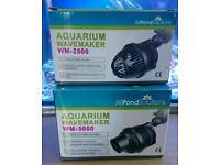 Boxed nearly new wavemakers and used powerhead marine tropical aquarium