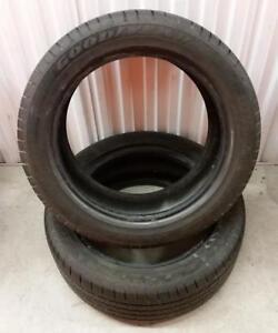 (E80) 2 Pneus Ete - 2 Summer Tires 225-50-17 Goodyear RunFlat 5-6/32